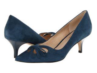 Joan & David Gardner Womens Slip on Shoes (Blue)