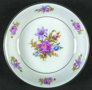 Royal Jackson Deanna Fruit/Dessert (Sauce) Bowl, Fine China Dinnerware   Floral