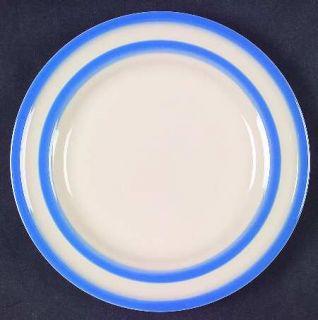 TG Green (England) Cornish Blue White (Shield & Tg Green) Salad Plate, Fine Chin