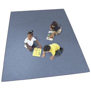 Joy Carpets Endurance Kids Area Rug   Assorted Colors Glacier Blue   80 Q 04, 6