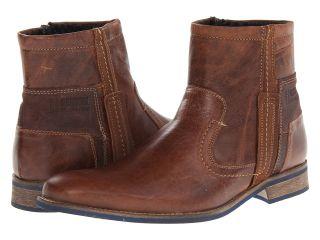 Type Z Lee Mens Zip Boots (Tan)