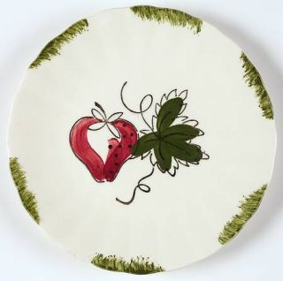 Blue Ridge Southern Pottery Strawberry Sundae Bread & Butter Plate, Fine China D