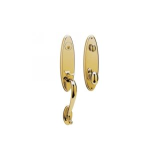 Baldwin Hardware 85360.003.ENTR Blakely Blakely Single Cylinder Polished Brass H