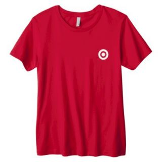 Misses Red Crew Neck T shirt   S