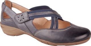 Womens Blondo Bianca   Blue Denim Blanche Neige Leather Casual Shoes