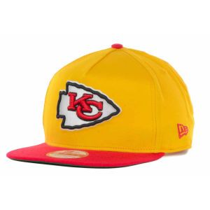Kansas City Chiefs New Era NFL Team Flip Up A Frame 9FIFTY Snapback Cap