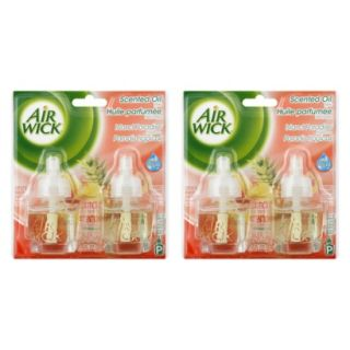 AIR WICK Scented Oils   ISLAND PARADISE, 1.35 Ounces, 2 Pack