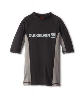 Quiksilver Kids Prime S/S Surf Shirt Boys Swimwear (Gray)