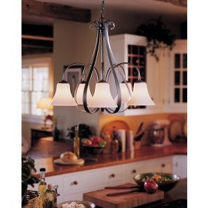 Hubbardton Forge HUB 101445 20 G22 Sweeping Taper Chandelier Sweep Taper with 5