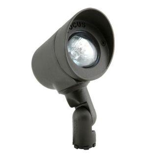 Focus Lighting DL02BRT 12V 20W Bullet Directional Light Bronze Texture