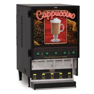 BUNN O Matic FMD 5 BLK Hot Powdered Drink Machine, 5 Hoppers
