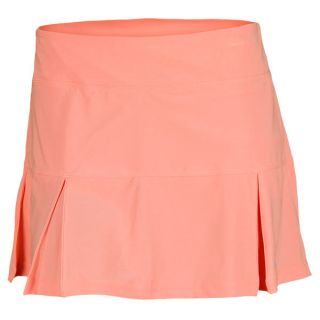 Nike Women`s Four Pleated Knit 14.17 Inch Tennis Skirt Atomic Pink Small