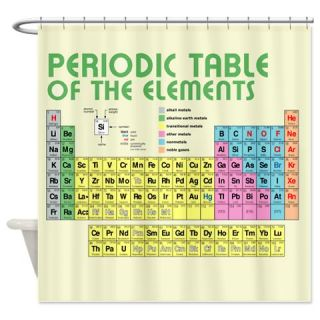 Periodic Table of the Elements Shower Curtain  Use code FREECART at Checkout