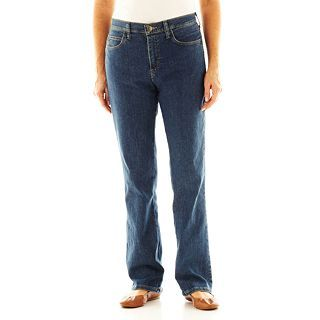 Lee Relaxed Fit Bootcut Jeans, Premium Mediterran, Womens