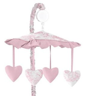 Toile Musical Mobile   Pink