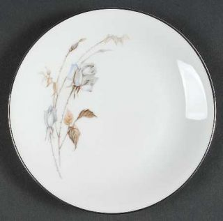 Heinrich   H&C Blue Rose Bread & Butter Plate, Fine China Dinnerware   Blue Rose
