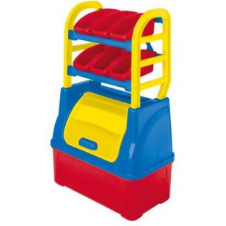 American Plastic Toys Toy Organizer   Red/Blue/Yellow