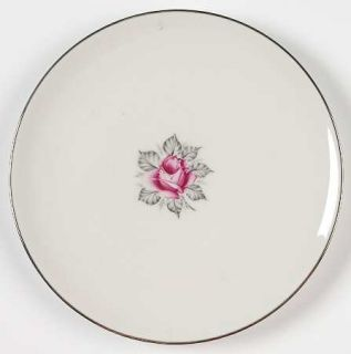 Royal Jackson Normandy Rose Bread & Butter Plate, Fine China Dinnerware   Parisi