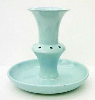 Taylor, Smith & T (TS&T) Luray Pastels Blue Epergne, Fine China Dinnerware   Sol