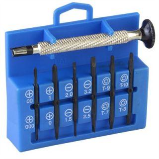 12 In 1 Precision Miniature Screwdriver Set   Miniature Screwdriver Kit