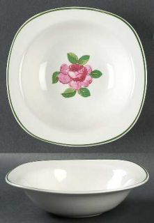Taylor, Smith & T (TS&T) Rosemont Rim Cereal Bowl, Fine China Dinnerware   Conve