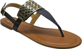 Womens Westbuitti Victoria 1   Black Ornamented Shoes