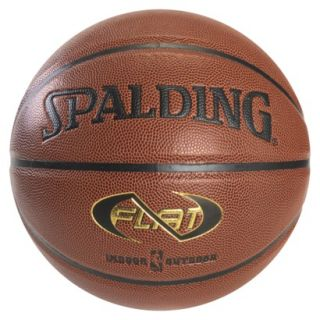 SPALDING BROWN Spalding NEVERFLAT basketball 29.5