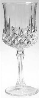 St George Belmont Water Goblet   Clear, Cut, No Trim
