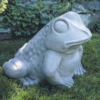 Campania International Giant Garden Frog Garden Statue   A 224 GS