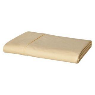 Threshold Ultra Soft 300 Thread Count Flat Sheet   Yellow (Twin)