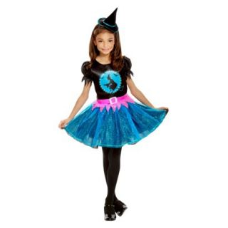 Girls Light Up Witch Costume