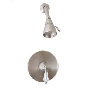 Giagni C4 BN CL Celina Pressure Balance Shower Faucet with Crystal Handles
