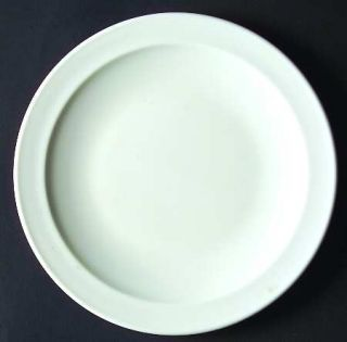 Corning White Narrow Rim (Pyroceram) Salad Plate, Fine China Dinnerware   Pyroce