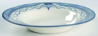 Rosina Queens Royal Palaces, The Large Rim Soup Bowl, Fine China Dinnerware   Va