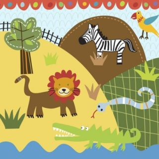 Oopsy Daisy too Jungle Lion & Friends   10x10