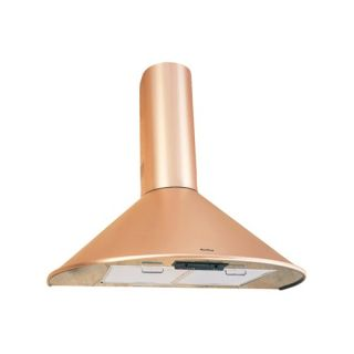Air King CAN36CO Cantabria Wall Mounted Range Hood, 36Inch Wide Copper