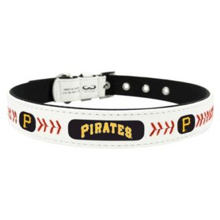 Pittsburgh Pirates Classic Leather Small Baseball Collar