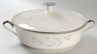 Lenox China Windsong Round Covered Vegetable, Fine China Dinnerware   Dimension,