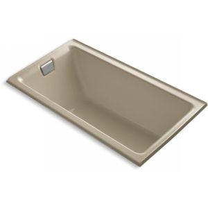 Kohler K 855 L 33 TEA FOR TWO Tea For Two 5.5 Bath With Tile Flange and Left Ha