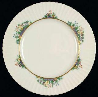 Lenox China Rutledge Salad Plate, Fine China Dinnerware   Multicolor Enamelled F