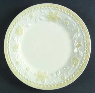 Lenox China Linen Closet Floral Wreath Salad Plate, Fine China Dinnerware   Embo