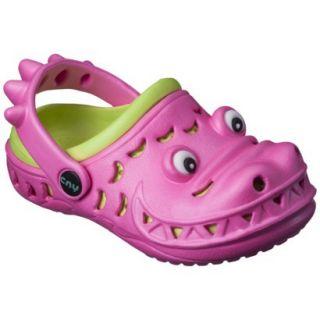 Toddler Girls Later Gator Clogs   Pink 6 7