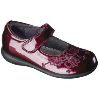 Toddler Girls Rachel Shoes Shana Patent Mary Jane   Red 9.5