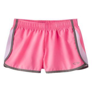 C9 by Champion Girls Woven Running Short   Flamingo M
