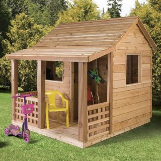 Cedarshed Industries Playhouse: Cedar Shed Cabin Cedar Playhouse