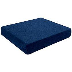 Hudson Pressure Eez 3 inch Flat Foam Seat Cushions (pack Of 4) (18x16x3)