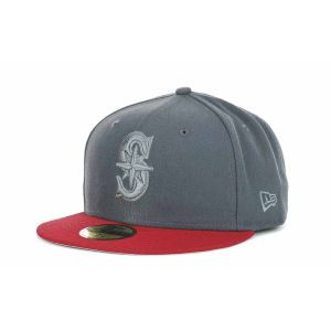 Seattle Mariners New Era MLB AG Tone 59FIFTY Cap