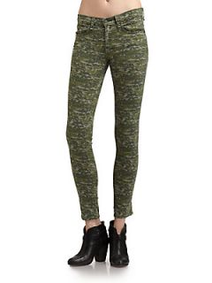 Graphic Camo Skinny Jeans   Camouflage