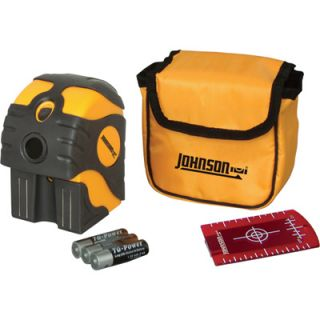 Johnson Level & Tool Self Leveling 2 Beam Dot Laser Level, Model# 40 6670