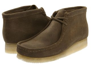Clarks Wallabee Boot Mens Lace up casual Shoes (Taupe)